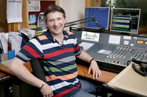 Dr. Boross György a rádióban